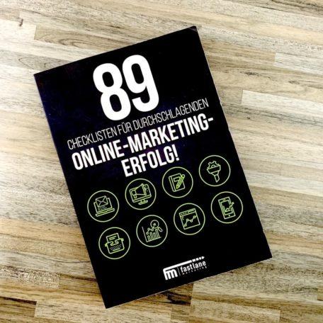 89 Checklisten für durchschlagenden Online-Marketing-Erfolg von vorne