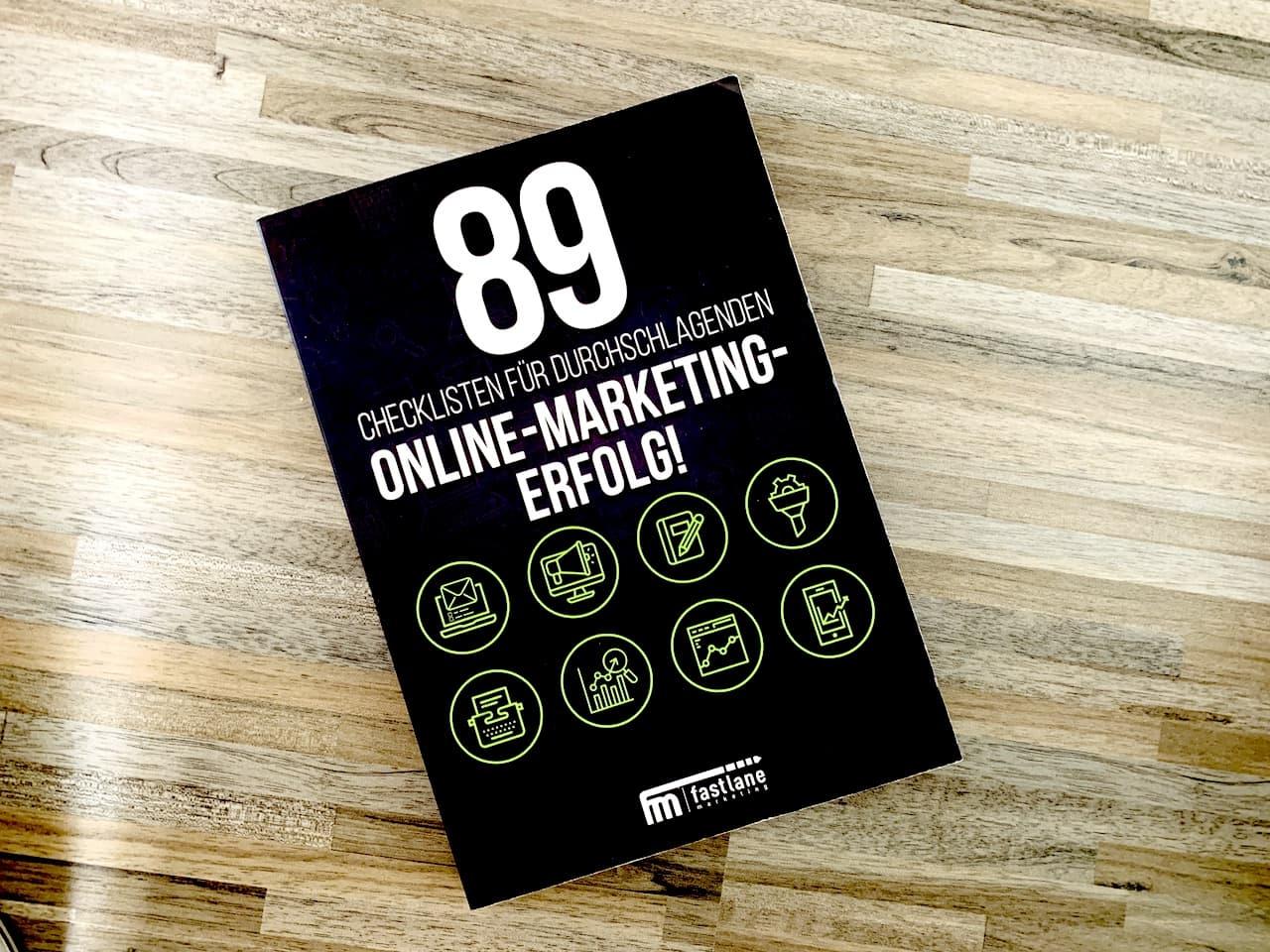 89 Checklisten für durchschlagenden Online-Marketing-Erfolg