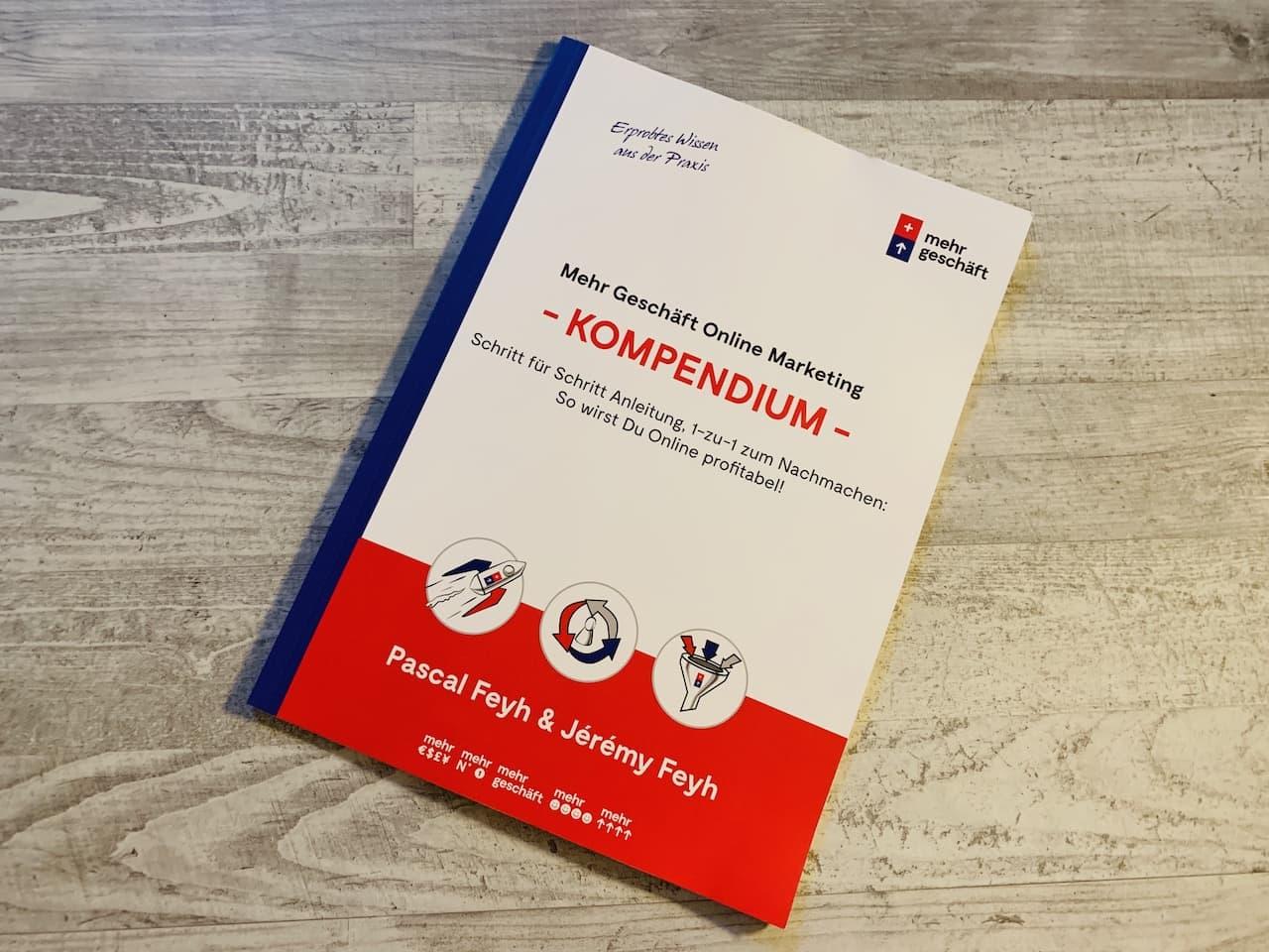 Das Online Marketing Kompendium von Mehr Geschäft Cover Front