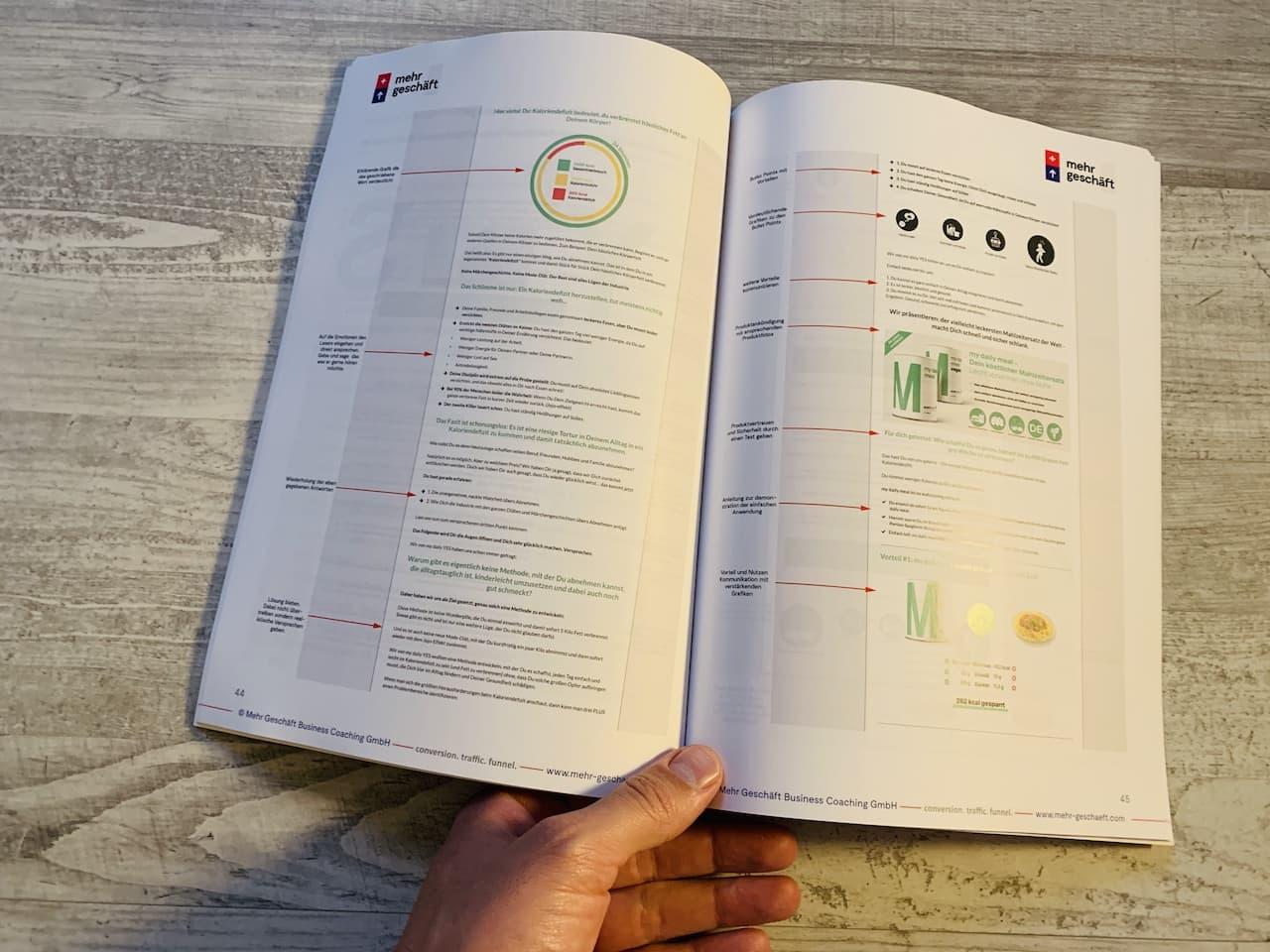 Das Online Marketing Buch von Mehr Geschäft Seite 44 45