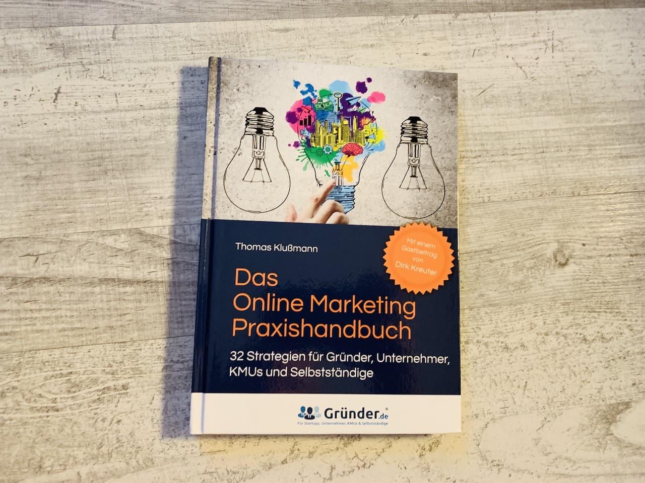 Das Online Marketing Praxishandbuch Cover