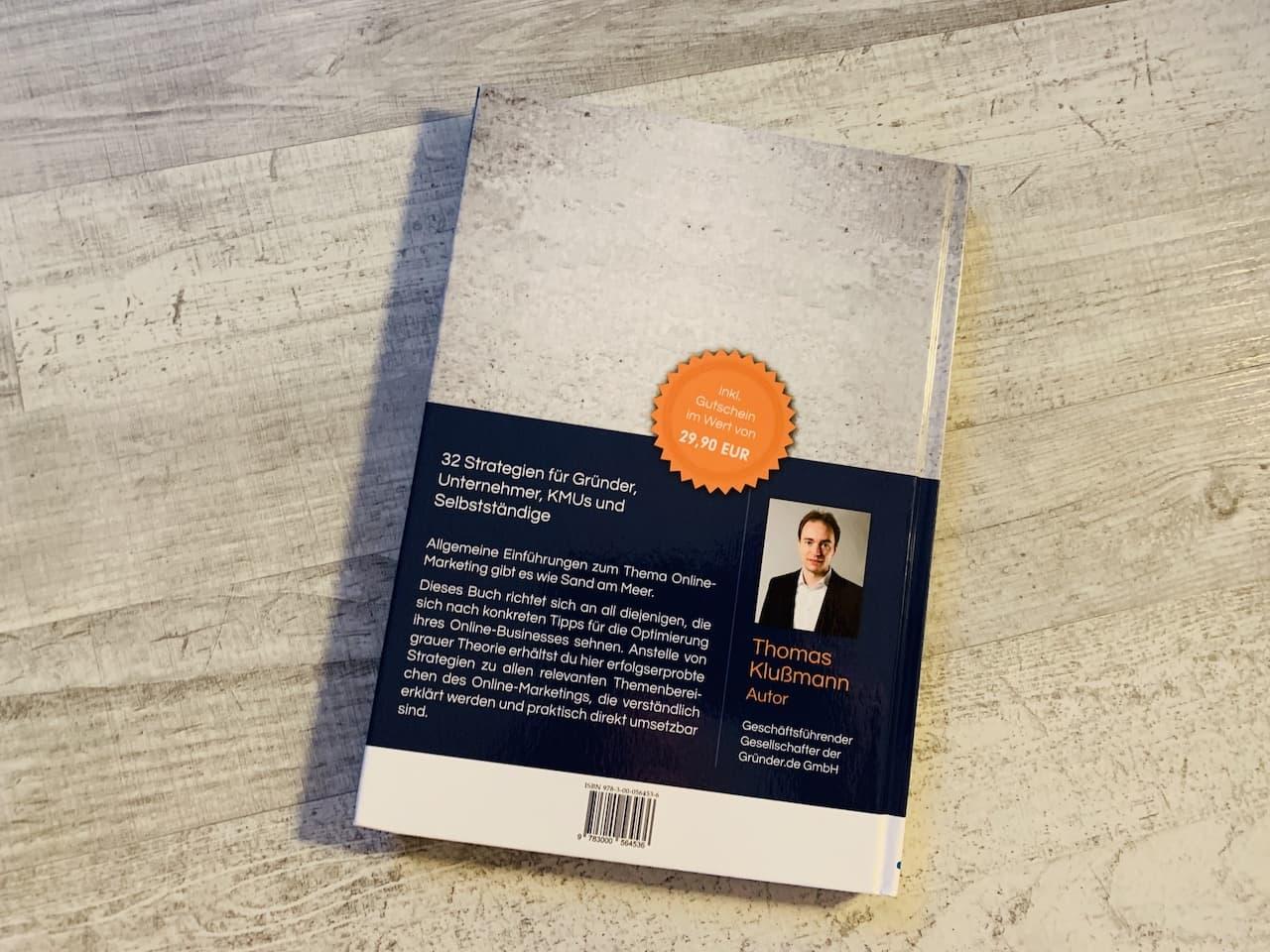 Das Online Marketing Praxishandbuch Rückseite