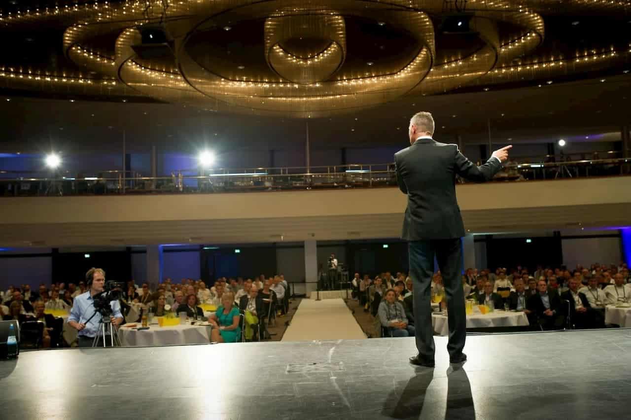 Dirk Kreuter auf der Bühne