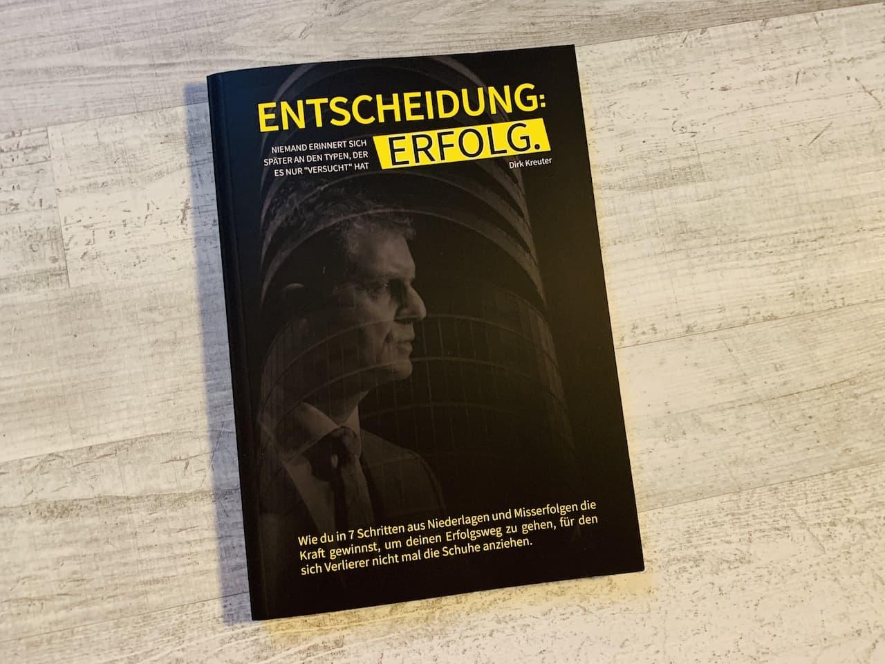 Entscheidung Erfolg Dirk Kreuter Front Cover