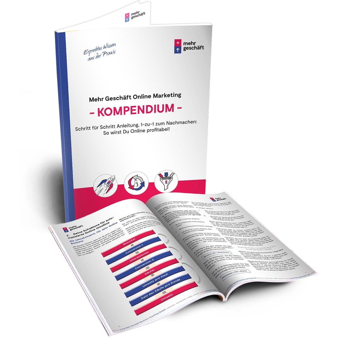 Mehr Geschäft Online Marketing Kompendium (Print & PDF)