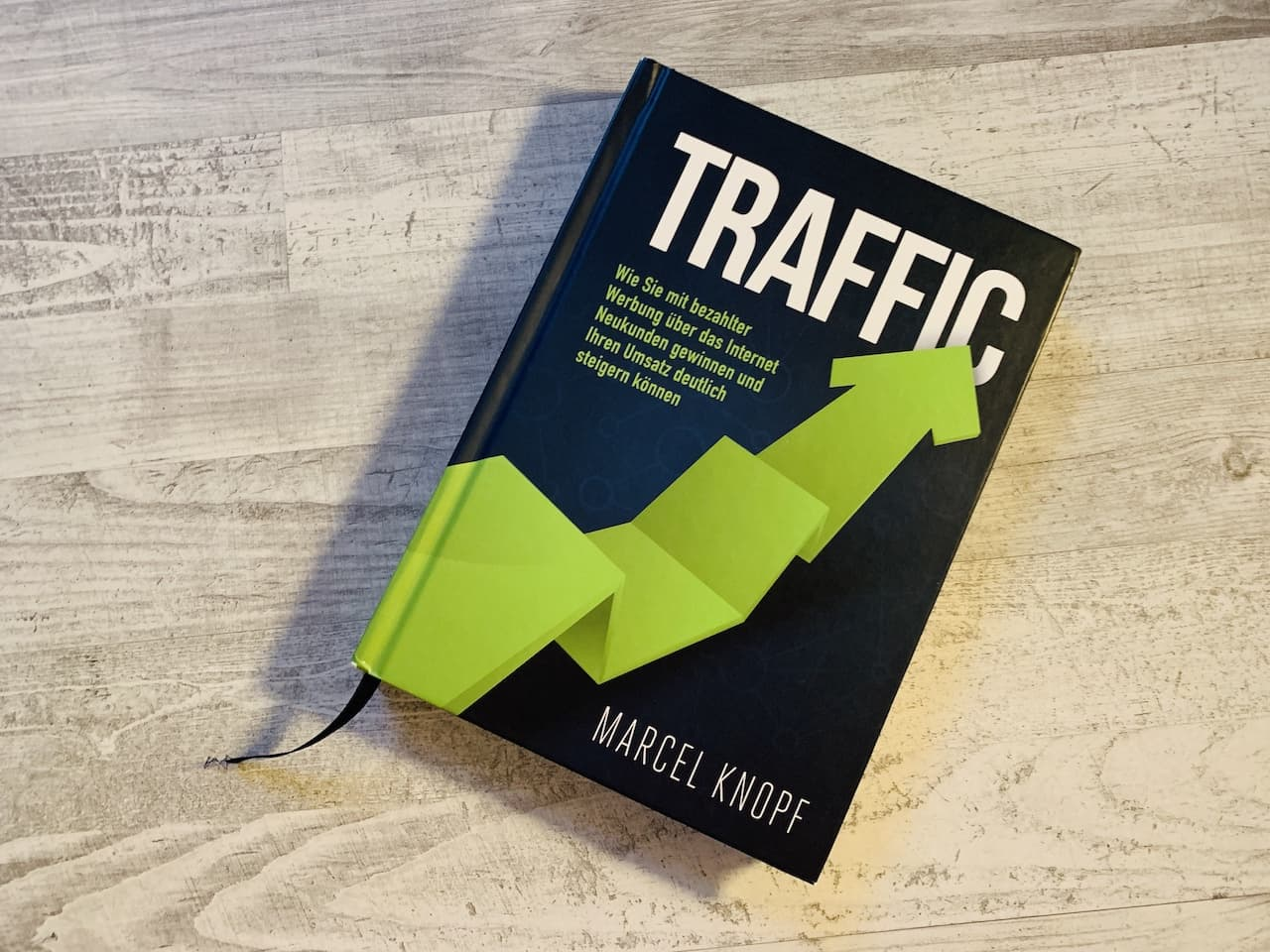 Traffic Buch Marcel Knopf Cover