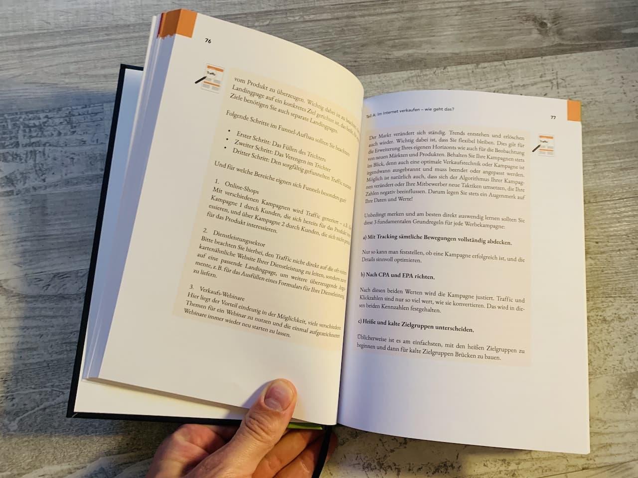 Traffic Buch Marcel Knopf Seite 76 und 77