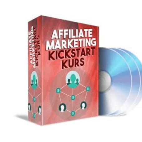 Affiliate Kickstart Kurs von Daniel Rüter als E-Book