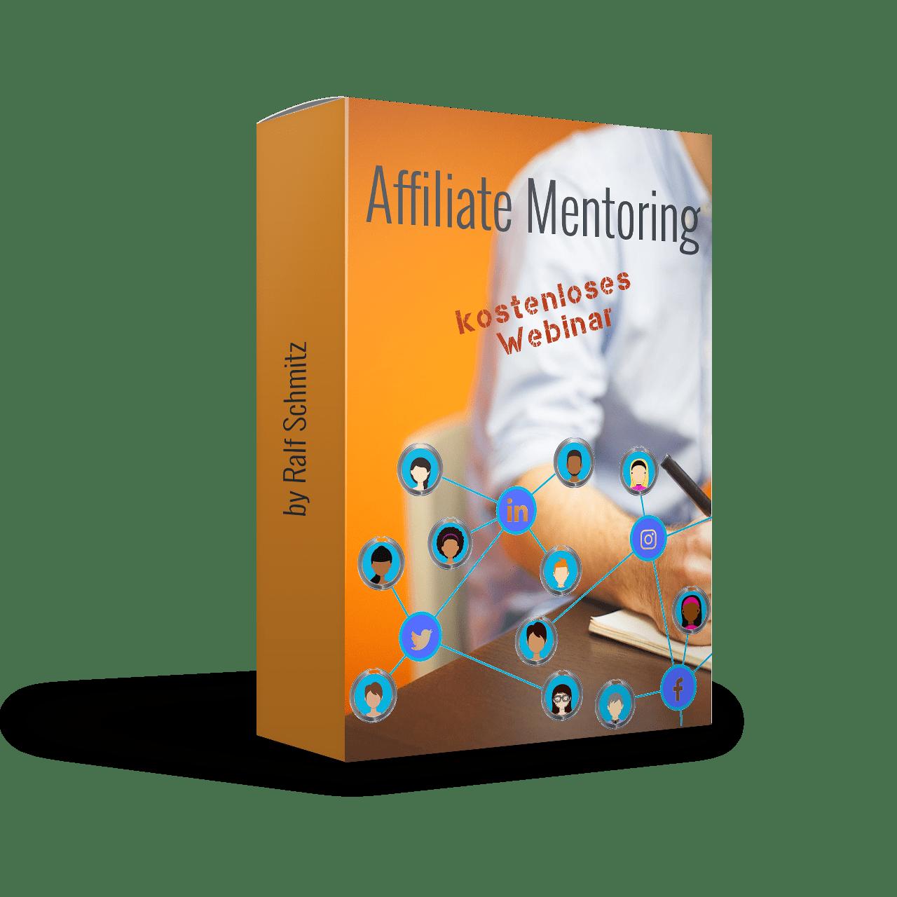 Affiliate Mentoring Webinar 2019 von Ralf Schmitz