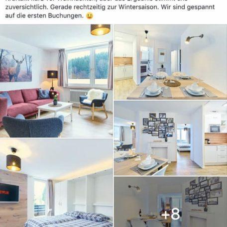 Airbnb-Beispiel einer Teilnehmerin
