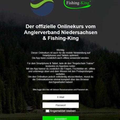 Anmeldung Fishing King Niedersachsen