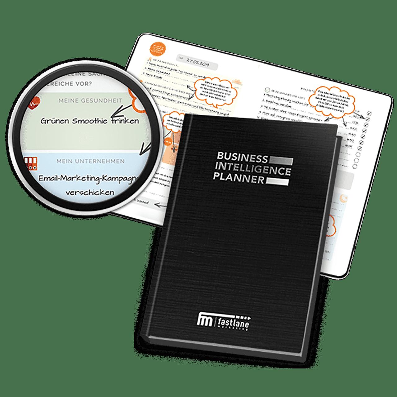 Business Intelligence Planner von Fastlane kostenlos als Buch