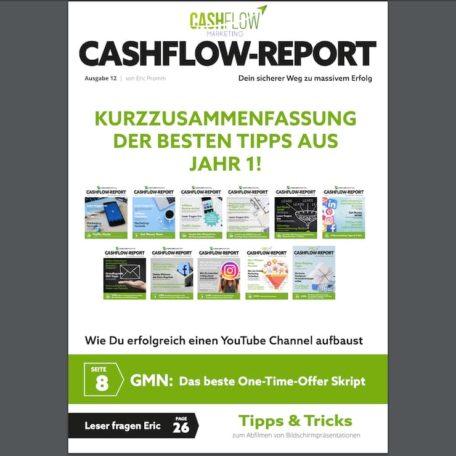 Cashflow Report Ausgabe 12 als Kurzusammenfassung