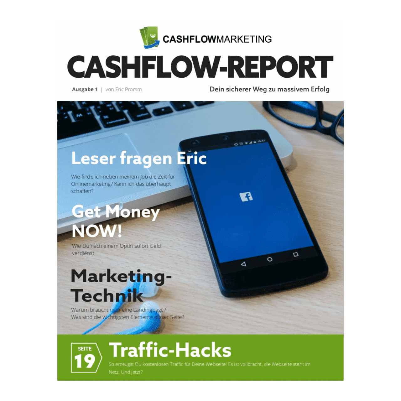 Cashflow Report (monatlich) by Eric Promm als PDF Dokument