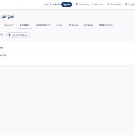Du kannst bei Convertlink auch deine eigene Domain hinterlegen