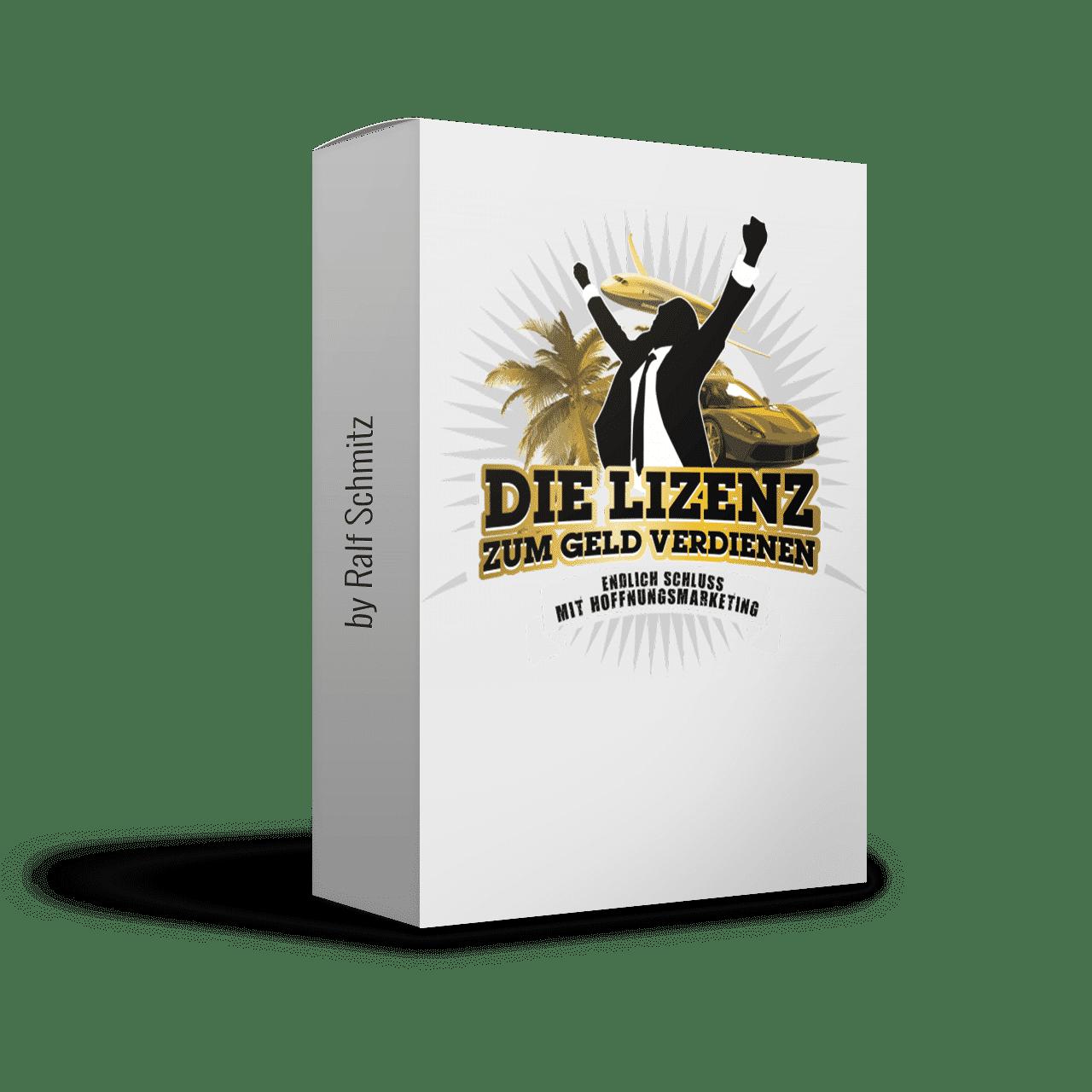 Die Lizenz zum Geld verdienen: Erfolgspaket von Ralf Schmitz