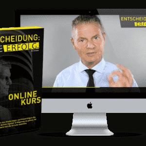 Entscheidung Erfolg Onlinekurs