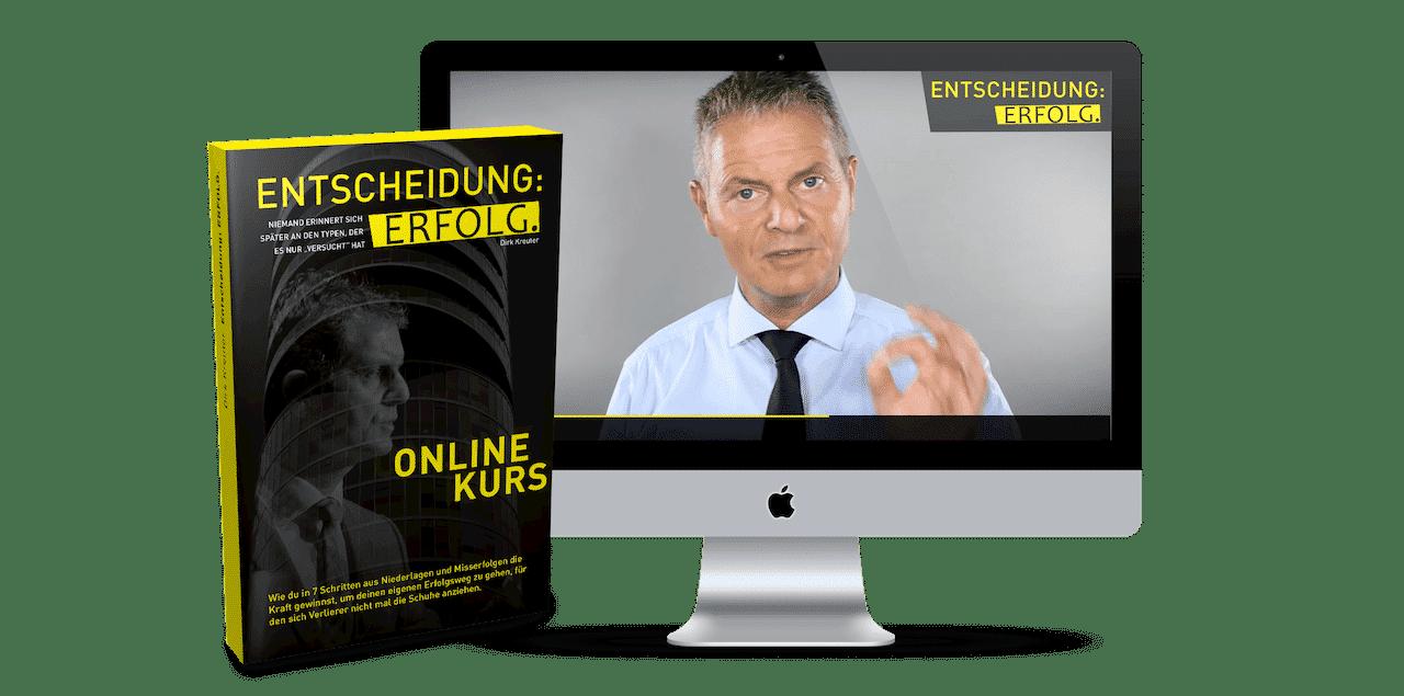 Entscheidung Erfolg Onlinekurs zum Buch von Dirk Kreuter