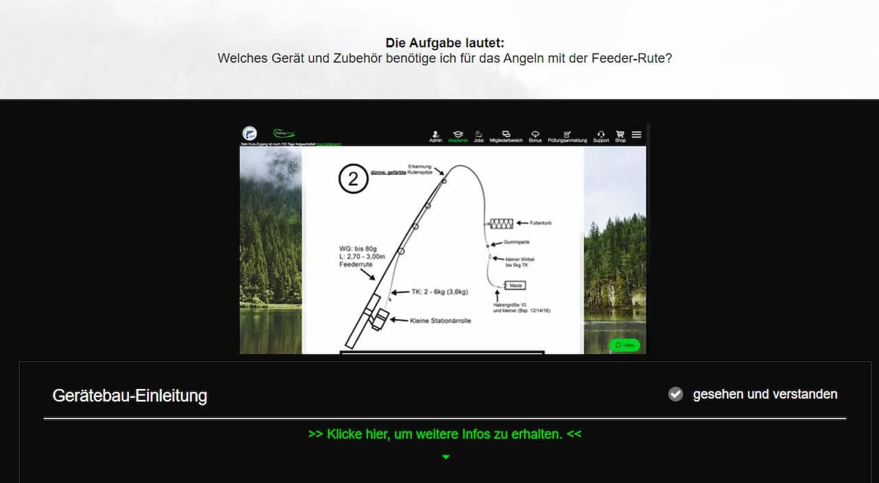 Fishing King Bayern - Gerätebausimulator