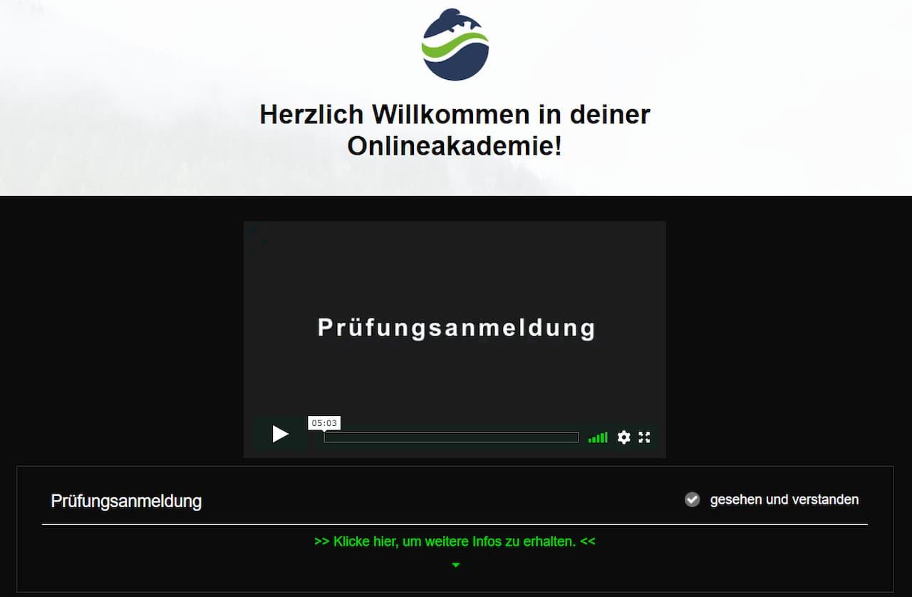 Fishing King Bayern Prüfungsanmeldung