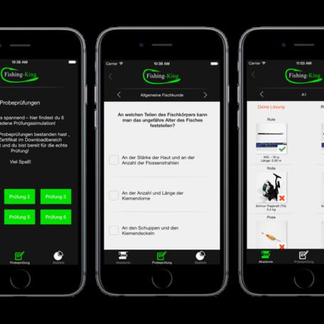 Die App von Fishing King Berlin