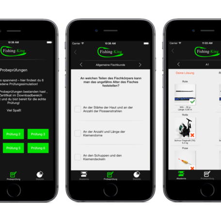 Die App von Fishing King Saarland
