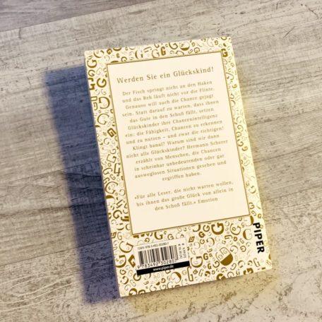 Die Rückseite vom Buch