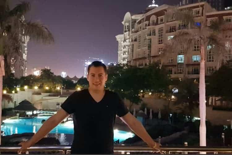 Jakob Hager in Dubai