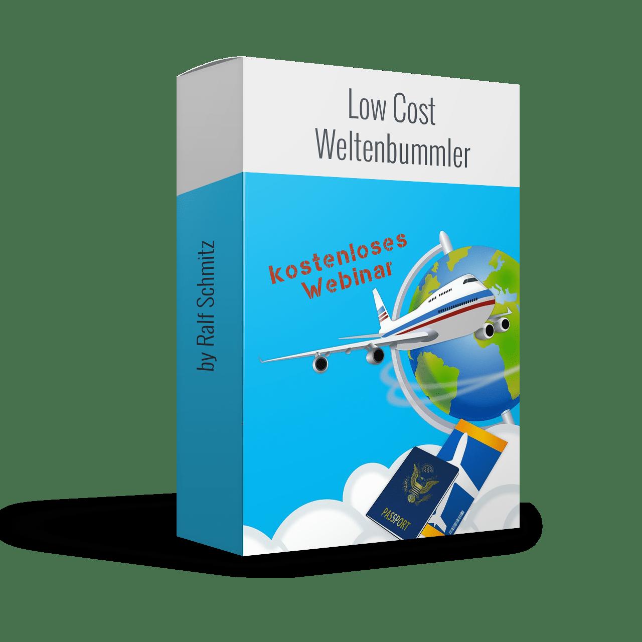 Low Cost Weltenbummler Webinar 2019 von Ralf Schmitz