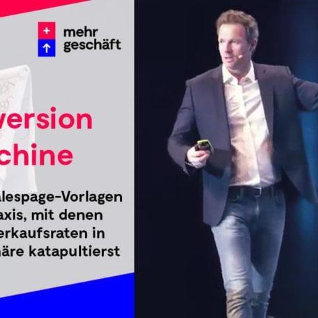 Die Conversion-Machine