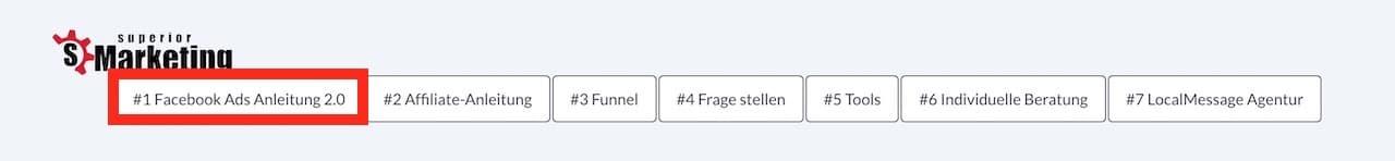 Modul 1 - Facebook Ads Anleitung 2.0