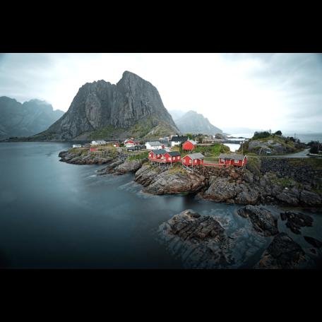 Sechs Paar Schuhe sind in ihrem Film Nordwärts überwiegend in Norwegen unterwegs