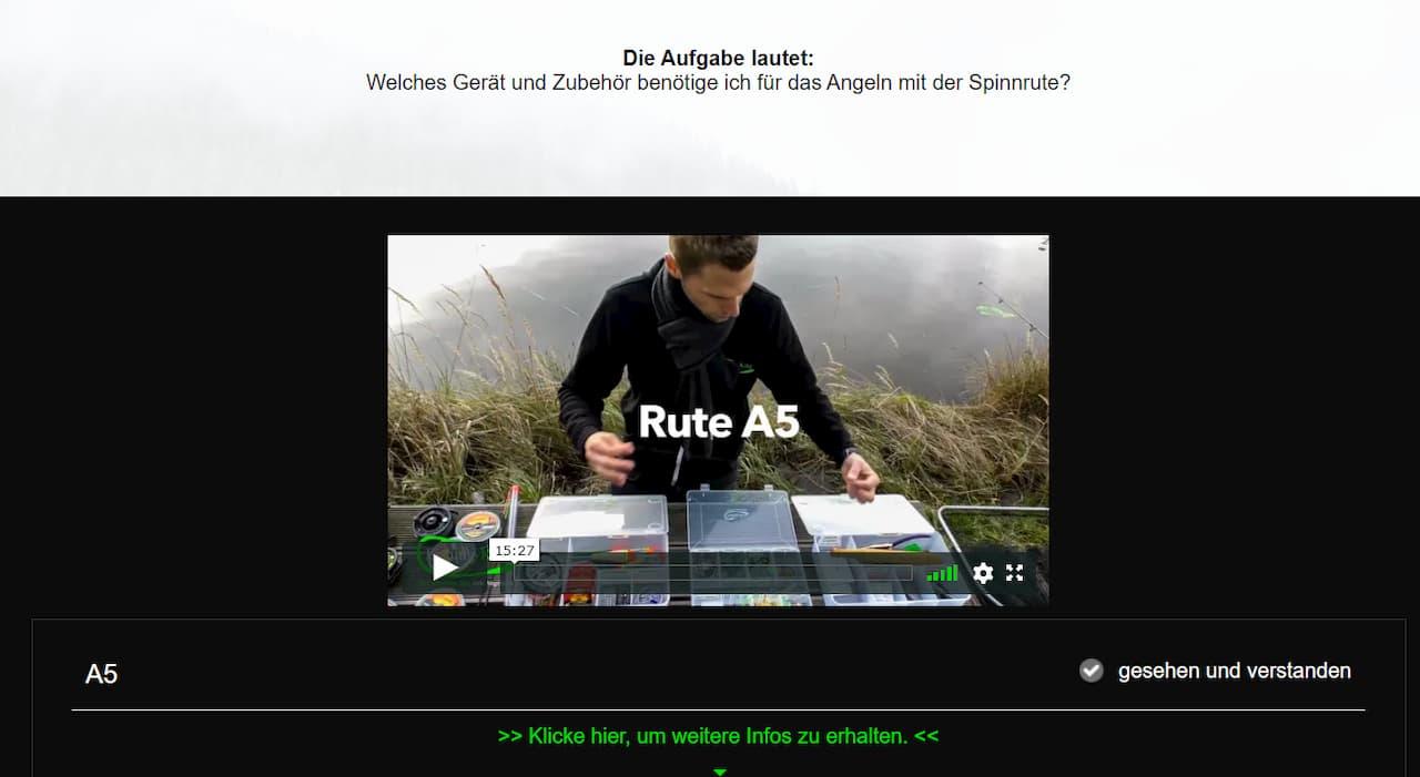 Online Kurs Rutenbau