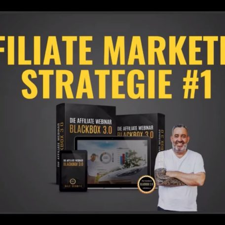 Die Ralf Schmitz Webinar Affiliate Marketing Strategie Nummer 1 von Ralf Schmitz