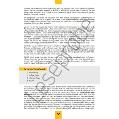 Sack Zu! Abschlusssicher verkaufen Leseprobe 1