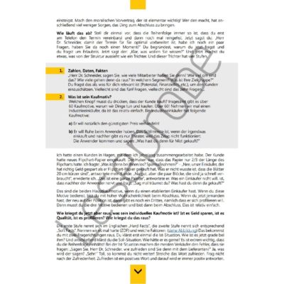 Sack Zu! Abschlusssicher verkaufen Leseprobe 3