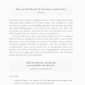 Sprenge deine Grenzen Jürgen Höller Leseprobe Kapitel 2 - Das Gesetz von Ursache und Wirkung Seite 49