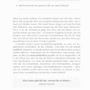 Sprenge deine Grenzen Jürgen Höller Leseprobe Kapitel 2 - Das Gesetz von Ursache und Wirkung Seite 50