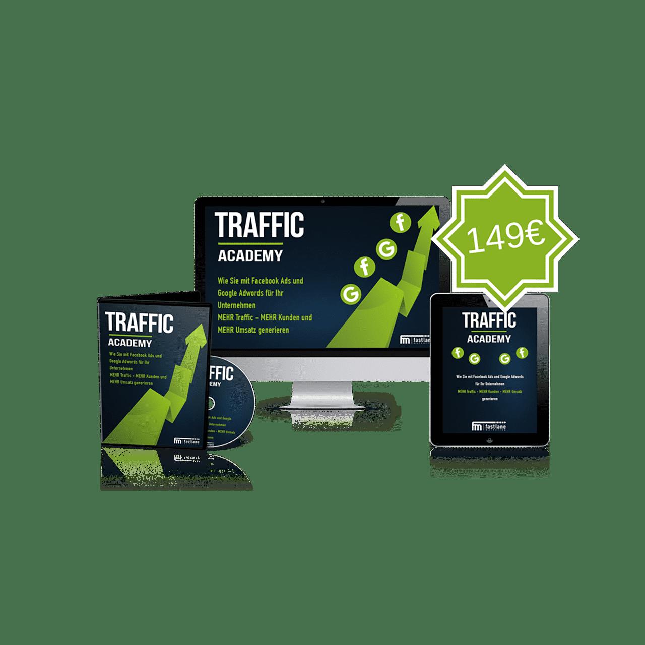 Traffic Academy Videokurs von Marcel Knopf