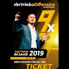 Vertriebsoffensive 2019 in Österreich + Deutschland von Dirk Kreuter
