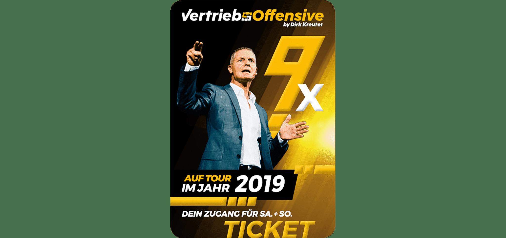 Vertriebsoffensive 2019 in Deutschland + Österreich by Dirk Kreuter